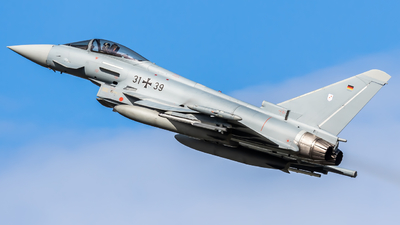 31-39 - Eurofighter Typhoon EF2000 - Germany - Air Force