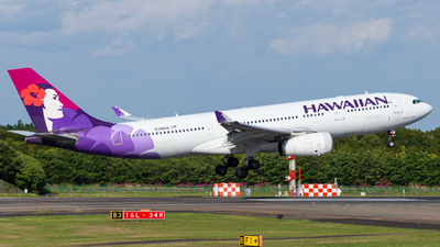 A picture of N396HA - Airbus A330243 - Hawaiian Airlines - © M Tanibata