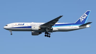A picture of JA742A - Boeing 777281(ER) - All Nippon Airways - © kouyagi