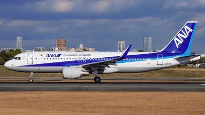 JA01VA - Airbus A320-216 - All Nippon Airways (ANA)