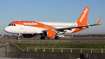 G-EZOZ - Airbus A320-214 - easyJet