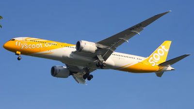 9V-OJI - Boeing 787-9 Dreamliner - Scoot