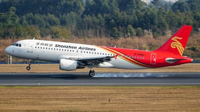 A picture of B9980 - Airbus A320214 - Shenzhen Airlines - © ECO707