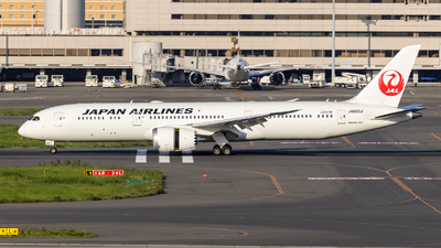 JA880J - Boeing 787-9 Dreamliner - Japan Airlines (JAL)