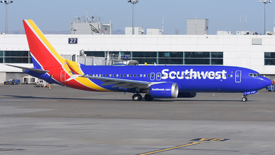 A picture of N8708Q - Boeing 737 MAX 8 - Southwest Airlines - © Jordan Louie