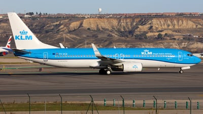 PH-BCB - Boeing 737-8K2 - KLM Royal Dutch Airlines