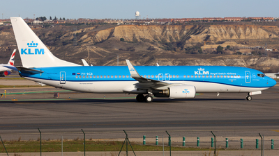 A picture of PHBCB - Boeing 7378K2 - KLM - © J.M.Carballo