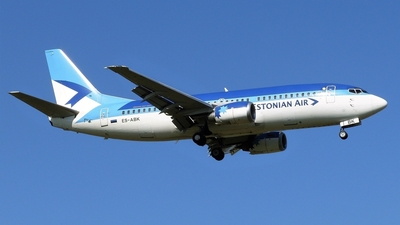 ES-ABK - Boeing 737-36N - Estonian Air