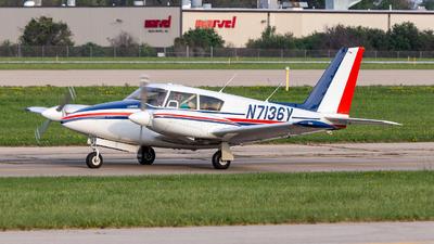 N7136Y - Piper PA-30-160 Twin Comanche - Private