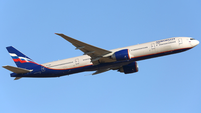 A picture of VQBFK - Boeing 7773M0(ER) - Aeroflot - © FlyPete