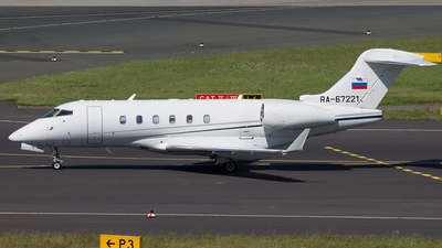 RA-67221 - Bombardier BD-100-1A10 Challenger 300 - Tatarstan Airlines