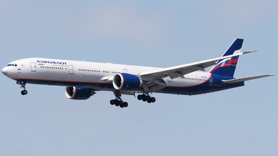 VQ-BQD - Boeing 777-3M0ER - Aeroflot