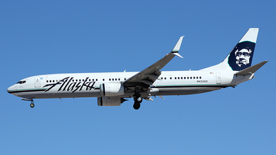 N423AS - Boeing 737-990ER - Alaska Airlines