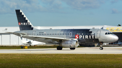 N529NK - Airbus A319-132 - Spirit Airlines