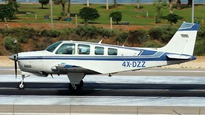 4X-DZZ - Beechcraft A36 Bonanza - Private