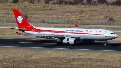 A picture of B8962 - Airbus A330243 - Sichuan Airlines - © SEN BAI