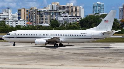 N640CS - Boeing 737-4Y0 - United States - Department of Justice (DOJ)