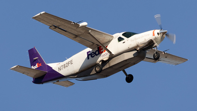 A picture of N782FE - Cessna 208B Super Cargomaster - FedEx - © HAOFENG YU