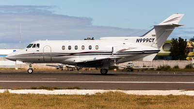 N999CY - Hawker Siddeley HS-125-700A - Private