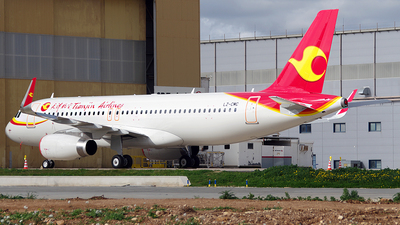 LZ-CMC - Airbus A320-232 - Tianjin Airlines