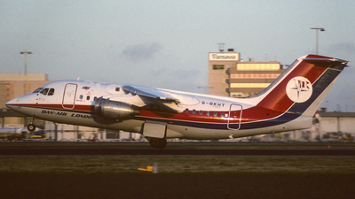 G-BKHT - British Aerospace BAe 146-100 - Dan-Air London