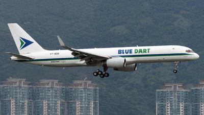 A picture of VTBDB - Boeing 75723N(PCF) - Blue Dart Aviation - © Alvin Ho - AHKGAP