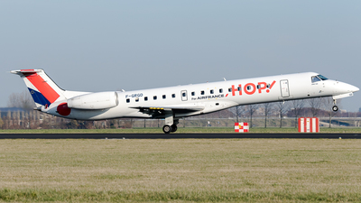 F-GRGD - Embraer ERJ-145EP - HOP! for Air France