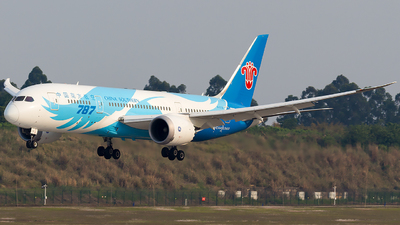 A picture of B2725 - Boeing 7878 Dreamliner - China Southern Airlines - © SZ4509