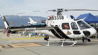 N833SB - Airbus Helicopters H125 - United States - San Bernardino County Sheriffs Dept