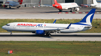 A picture of TCJFN - Boeing 7378F2 - Turkish Airlines - © Harun Arda