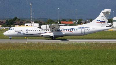 D-ALBC - ATR 72-212A(500) - Lübeck Air (Alsie Express)