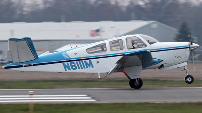 N6111M - Beechcraft V35 Bonanza - Private