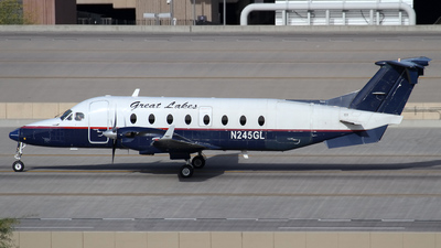 A picture of N245GL - Beech 1900D - Great Lakes Aviation - © Jeremy D. Dando