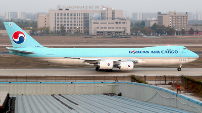 HL7639 - Boeing 747-8B5F - Korean Air Cargo