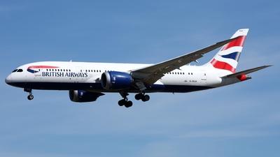 A picture of GZBJH - Boeing 7878 Dreamliner - British Airways - © D.Kleintz