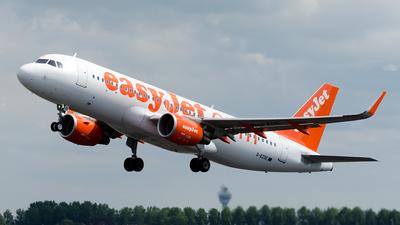 G-EZOE - Airbus A320-214 - easyJet