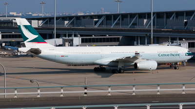 B-HLR - Airbus A330-343 - Cathay Pacific Airways