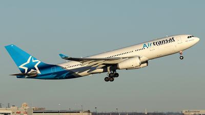 A picture of CGGTS - Airbus A330243 - Air Transat - © Tianyi Liu