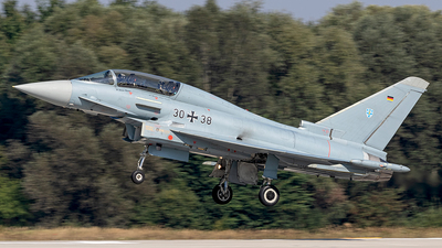 30-38 - Eurofighter Typhoon EF2000(T) - Germany - Air Force
