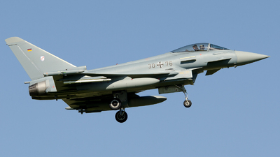 30-76 - Eurofighter Typhoon EF2000 - Germany - Air Force
