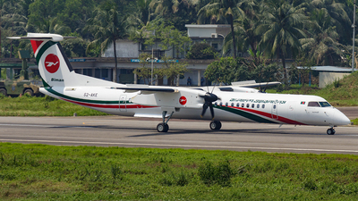 A picture of S2AKE - De Havilland Canada Dash 8 Q400 - Biman Bangladesh Airlines - © Muntasir Hoque