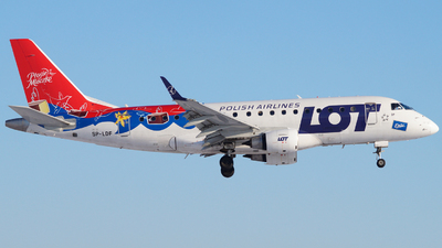 SP-LDF - Embraer 170-100STD - LOT Polish Airlines
