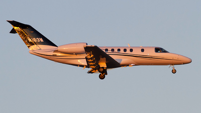 N163M - Cessna 525 Citationjet CJ4 - Private