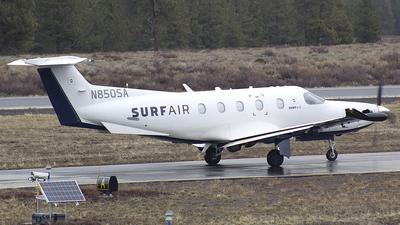 N850SA - Pilatus PC-12/47E - SurfAir