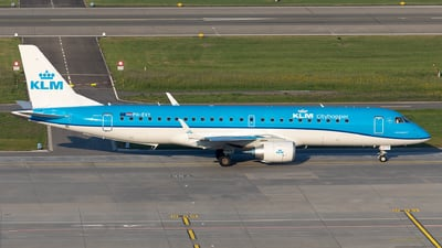 PH-EXY - Embraer 190-100STD - KLM Cityhopper