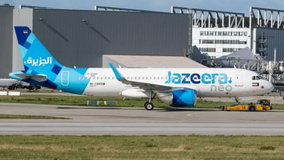 D-AUAV - Airbus A320-251N - Jazeera Airways