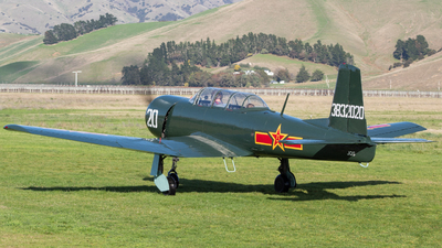 ZK-JQS - Nanchang CJ-6A - Private