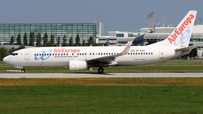 A picture of ECLQX - Boeing 73785P - Air Europa - © Eddie Heisterkamp