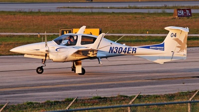 N304ER - Diamond DA-42 NG Twin Star - Embry-Riddle Aeronautical University (ERAU)