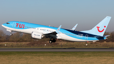 G-TUMC - Boeing 737-8 MAX - TUI